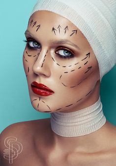 Nip/Tuck by Stefka Pavlova, via Behance
