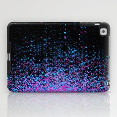 infinity in blue and purple iPad Case