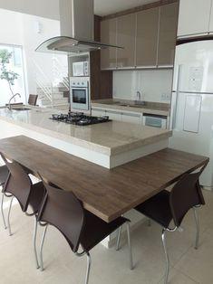 Small House Kitchen Ideas, Small Kitchen Plans, Home Decor Kitchen, Kitchen Living, Kitchen Interior, Home Kitchens, Modern Kitchen Cabinets, Kitchen Cabinet Design, Contemporary Kitchen Design
