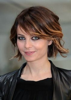 Pretty Short Ombre Hair Style
