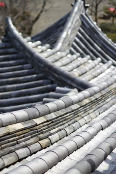 The details of Inuyama Castle roof, Aichi, Japan