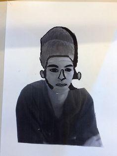 Vervormd zelfportret
