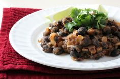 Mexican-Style Black Beans