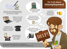 Here we highlight some of the most telling, shocking, and interesting studies done on the unemployed, which demonstrate that finding work isn't easy nor is shaking the effect unemployment.