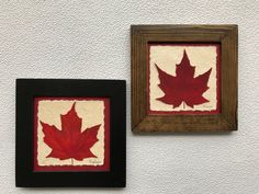 Celebrate Canada with our Maple Leaf Collection. All of our Maple Leaves are grown and harvest in the mountains of BC, Canada. After they are pressed we create unique pieces of framed artwork with the botanicals. Maple Leaf Pictures, Language Of Flowers, Old Windows, True North, Walnut Stain, Leaf Art, Framed Artwork, Unity, Art Pieces