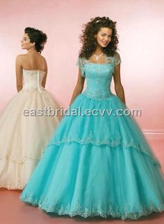 Vintage vibe prom dress! Very unique, princess like ball gown. Would look good on all body types!
