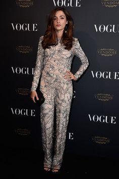 Eleonora Carisi at Vogue Aniversary