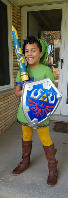 If your daughter wants to be Link instead of Zelda... Let her be Link!