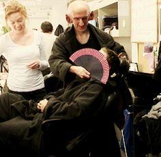 Hobbit cast: backstage on makeup