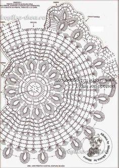 schéma kruhový pulovrik biely