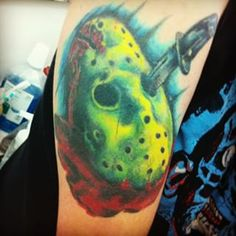 The horror tattoo that started it all.
