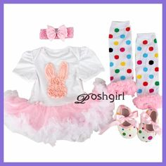 Infant Baby Girl Suumer Suit Novelty Costume Baby Easter Clothing Sets Bebe Rompers Birthday Party Cosplay Gift 3 6-9 12 18M