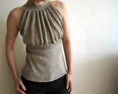 pattern on ravelry- This would look wonderful on one of my co-workers....dreadful on me!