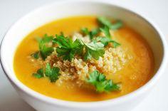 Möhrensuppe mit Quinoa