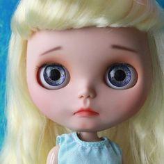 Custom Doll for Adoption by WhiteChocolateDreamland  CHECK HERE  http://etsy.me/2puaGK5 . . .  #blythe #dollycustom #blythecustom #blythecustomizer #ooakblythe #customblythe #kawaii #doll #artdoll #dollstagram #blythestagram #blythelover #ブライス #instadoll #ブライス #blythedoll #customdoll #dollphotography #instablythe #dollphotogallery #dollphoto #ooak