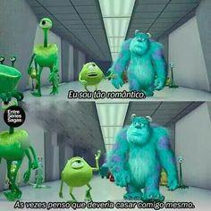 Eu amo o Mike mds. Disney Pixar, Disney Monsters, Monsters Inc, Disney And Dreamworks, 100 Memes, Amblin Entertainment, Little Memes, Memes Status, Series Movies