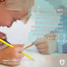 Early Years Are Learning Years - blog post - Week of the Young Child: Themes and Quotes to Keep You Inspired via @Rasmussen College #WOYC #quotes #education
