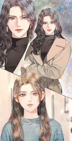 in cover # Random # amreading # books # wattpad Anime Girlxgirl, Fan Art Anime, Yuri Anime, Anime Couples Manga, Chica Anime Manga, Cute Anime Couples, Anime Art Girl, Anime Guys, Romantic Anime Couples