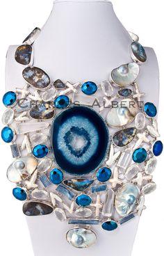 Charles Albert® Lookbook Necklaces - opals quartz pearls silver