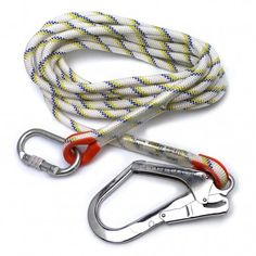 2 in this lot Large hook Safety Lanyard with Energy Absorber  6ft CE cert