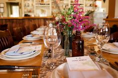 Banquet Setup at Epiphany Farms Restaurant #EpiphanyFarms #SpecialEvents #TableSettings #EpiphanyFarmsEvents