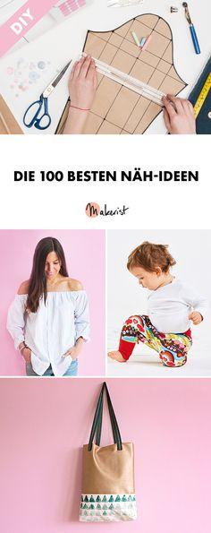 Die 100 besten Näh-Ideen via Makerist.de
