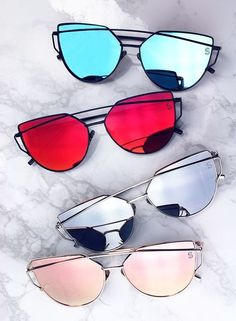 da31f75ef3f These sophisticated oversize cat eye aviator sunglasses are designed with  teardrop-shaped