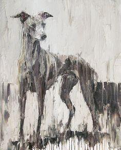 ~ Greyhound Linus Carl Melegari~