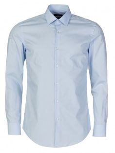 bf2ae2998 Hugo Boss Sky Blue Slim Fit Jenno Shirt