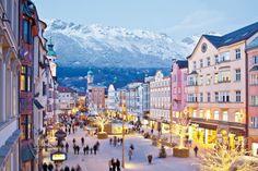 "iNSBRUCK, AUSTRIA  ""Capital of the Alps"""