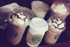 i love starbucks coffee