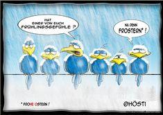 Höstis Feiertage - Hösti Cartoons® international
