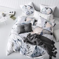 Home Republic Tao Quilt Cover Set, doona covers, bedlinen