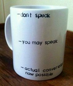 Coffee cup truth...