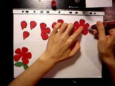 #pirosrózsa5 #papír #rózsa #tutorial #videó #oktatóvideó #diy #dísz #ajándék #alkotásmánia