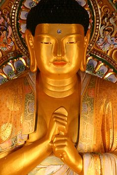 Yakcheonsa Buddha by JamMarz, via Flickr