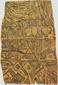 mbuti tribe of hunter/gatherers are found in Congo. the women are known for their paintings on bark cloth textiles.