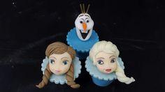 Cupcakes Decorados Frozen