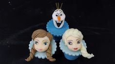 Cupcakes Decorados Frozen