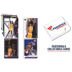 Shaquille O'Neal Los Angeles Lakers Unsigned 8 Card Lot - $11.99