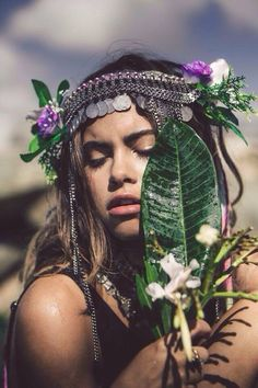 Burning Man 2016 headpiece somerollingstone: Mimi Elashiry by Amath Magnan Gypsy Style, Hippie Style, Boho Style, Hippy Chic, Boho Chic, Bohemian Soul, Boho Life, Thing 1, Hippie Gypsy