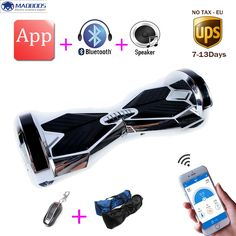 8 inch APP Smart Balance 2 Wheel Hover board Skateboard Electric Unicycle Drift Self Balancing skywalker Standing scooter