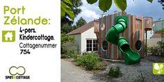 Spot je cottage | 4 persoons Cottage 550 Nieuwe generatie Kindercottage | Port Zélande