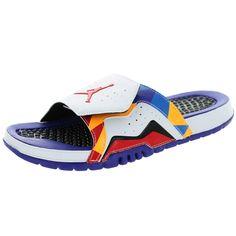 1abfd3fc6e47f Nike Jordan Men s Jordan Hydro Vii Retro  University Red d Lsr Sandal  Jordans