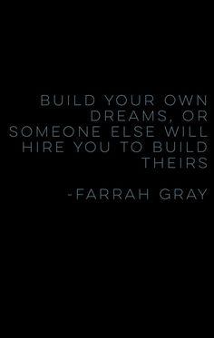 Farrah Gray speaks. #Quotes #Dreams  #Success