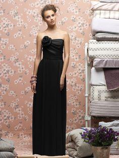 Lela Rose LX148 #black #bridesmaid #dress