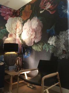 de winkel verfraaid met dit prachtige behang masterpieces marc keunen marcant interieurs