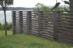 Beams and blocks #Block walls #fence idea