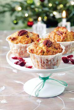 Karpalo-sinihomejuustomuffinit | Joulu | Pirkka #food #christmas #joulu