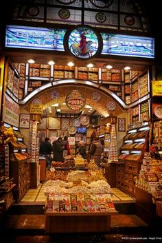 Spice store Istanbull, Turkey
